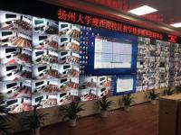 尚为集团55寸液晶拼接屏,应用扬州大学多媒体控制中心