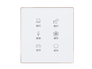 86式可编程水晶触摸面板-KJ0106HB1-X图片