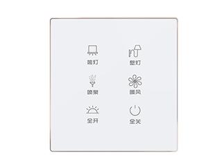 KJ0106HB1-X-86式可編程水晶觸摸面板