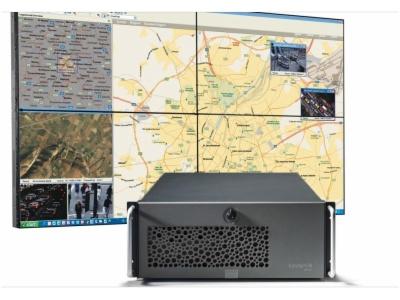 高性能网络LCD拼接显示系统套件-