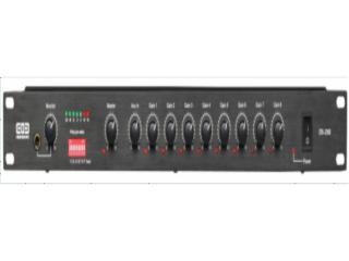 EM-2008-8路智能会议混音器