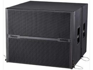 L-215B-双15寸超重低音线性阵列音箱
