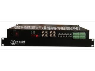 BL-8VS8K4A2Y-8路視頻8路開關量多業務光端機
