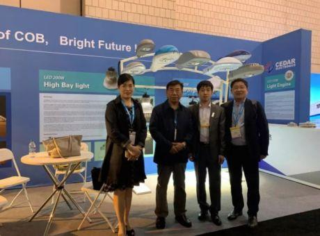 希达电子登陆LFI 2019国际照明展