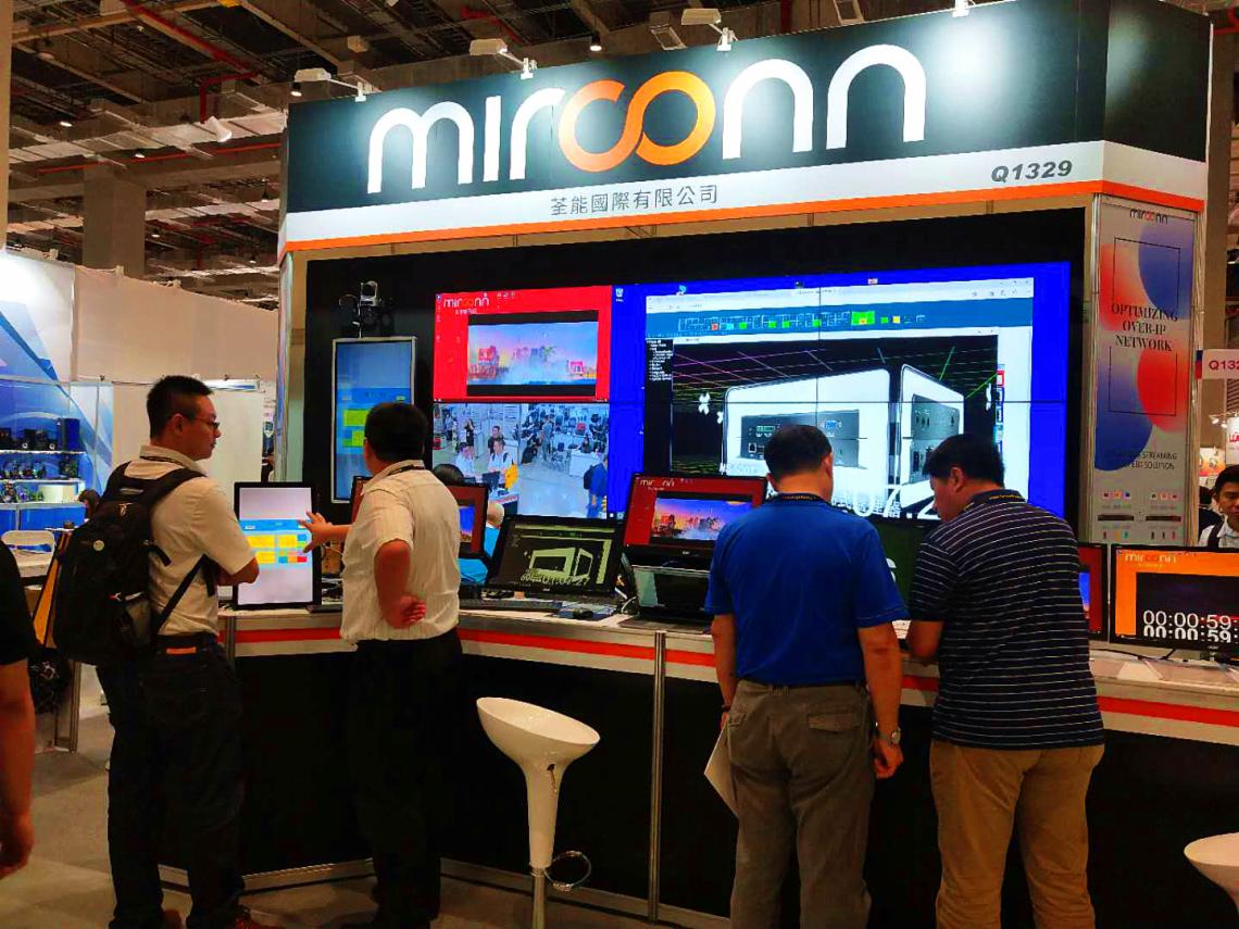 米尔康4K光纤多元分布式系统强势亮相2019台北COMPUTEX电脑展