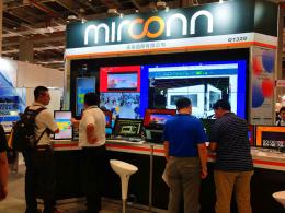 米爾康4K光纖多元分布式系統強勢亮相2019臺北COMPUTEX電腦展