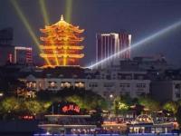 長江燈光秀+水陸空光影大秀,武漢再一次C位霸屏