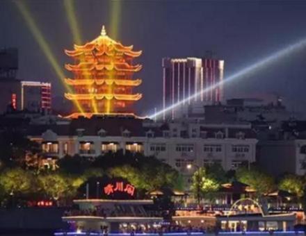 长江灯光秀+水陆空光影大秀,武汉再一次C位霸屏