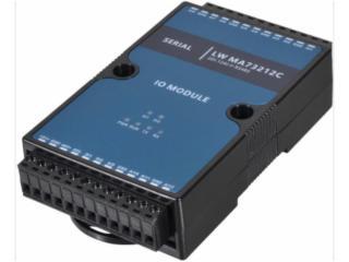 LW MA73212C-2路数字量12路电流模拟量采集器