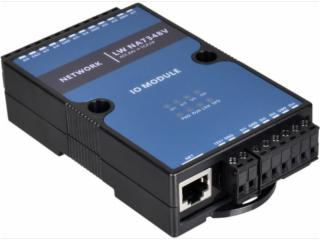 LW NA7348V-4路數字量8路電壓模擬量采集器