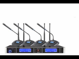 JD2940-無線一拖四會議話筒