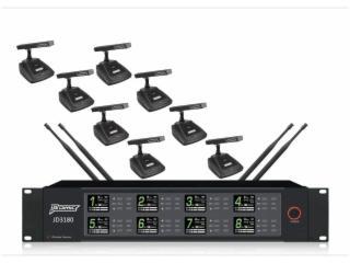 JD3180-無線一拖八會議話筒