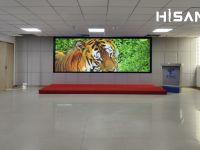 中国电信某公司Hisan海盛翔和激光屏实拍展示