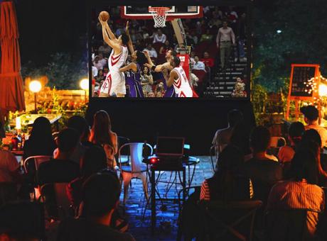 丽讯H658F投影机感受NBA总决赛激情