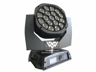 WY-1900-19颗大蜂眼19×15W调焦摇头灯 LED光束灯