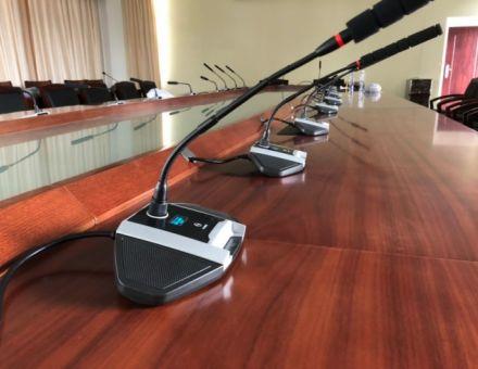 声诺电子会议系统助力广州市某镇政府智能化办公