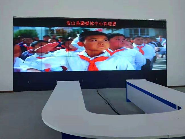 康佳壹视界液晶拼接屏助力新疆皮山县广电融媒体建设