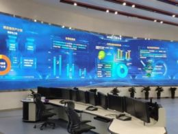 業內第一個控制室大型倒裝COB項目投入運行