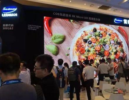 雷曼Micro LED闪耀北京InfoComm展,5G+8K引关注