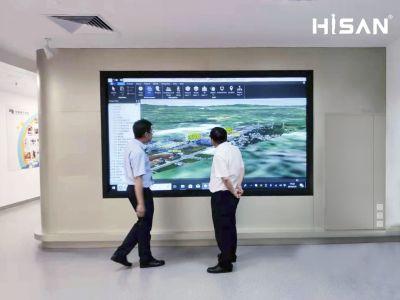 Hisan_海盛翔和激光屏:廣東江門供電局項目