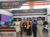 人头攒动!米尔康4K光纤多元分布式系统惊艳亮相2019IFC展会