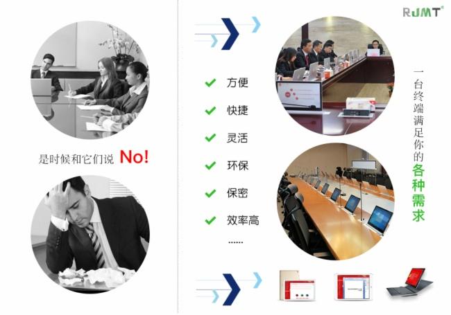 锐进交互式无纸化会议系统体系效益评价