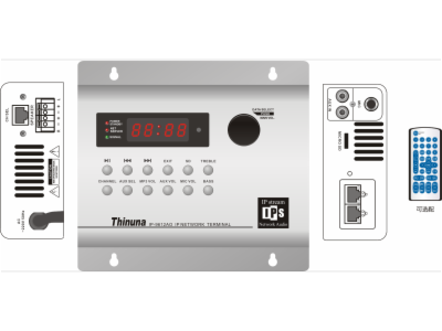IP-9612AO-网络音频终端(频道终端)
