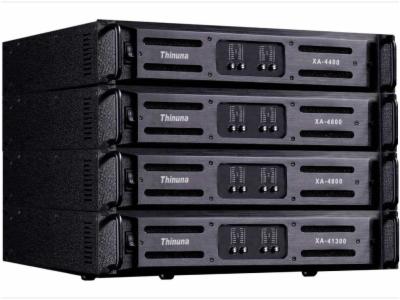 XA-4600,XA-4800,XA-41300-XA series 四通道专业功放