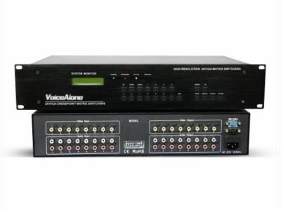 VA-AV0808-专业矩阵切换器-AV系列