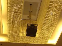 投影机竹节电动升降吊架