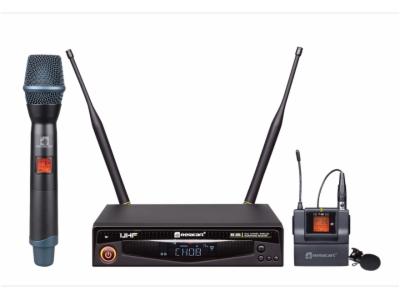 HR-30S-UHF 单通道真分集无线麦克风