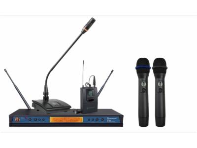 ER-5900-双通道真分集无线麦克风系统