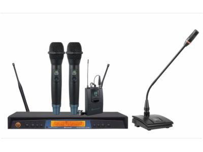 EU-610-雙通道真分集無線麥克風系統