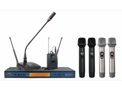 ER-5700-双通道真分集无线麦克风系统