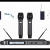 U段一拖二无线麦克风手持、头戴、领夹-UF-240图片