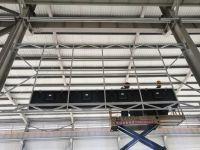 日照产业园55寸4x4空中吊挂