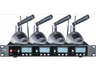 U-5004PT-一拖四無線鵝頸話筒