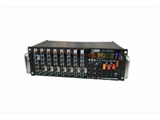 RP10-含功放-10路机架调音台