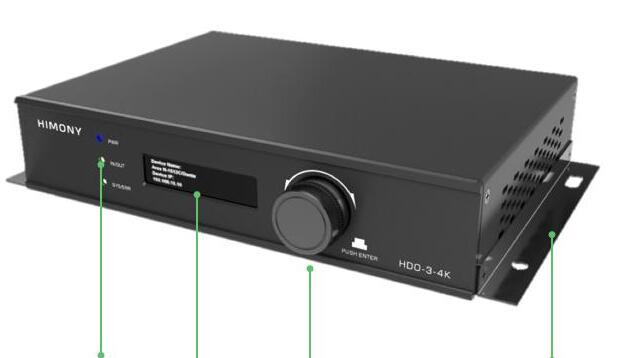 HIMONY和木公布视讯界面系统4K重要节点HDO-3-4K
