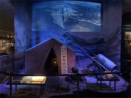 實景還原雪域雄關,明基工程投影點亮海關博物館