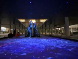 最具沉浸感的扶梯地面投影,就在杭州万科天空之城!