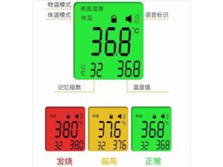 HTG68458-额温枪显示屏红外测温仪显示屏HTG68458