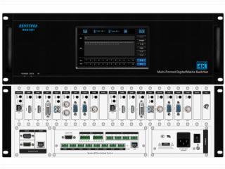 RHS-09H-9*9触控型混插矩阵主机 RHS-09H