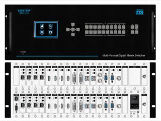 RHS-1616-RENSTRON按鍵型16*16矩陣主機RHS-1616