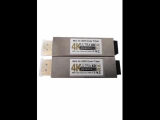 XR-MHG03-新锐视听 迷你 4K 30HZ HDMI光纤传输器 多模双纤300M
