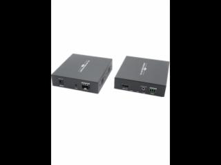 XR-HG02-新锐视听 HDMI光端机 + 音频3.5mm+串口RS232+EDID学习