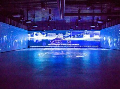 鸿合带你走进多彩炫酷的现代多媒体展厅!