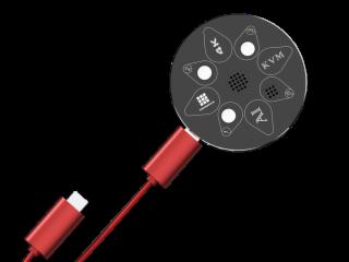 KVM-HDMI0301-AI智能語音切換器