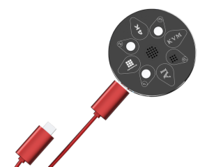 KVM-HDMI0301-AI智能语音切换器