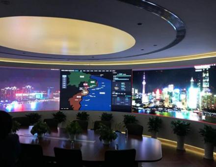 雷曼COB助力黄浦江两岸景观灯光监控中心浦东分中心灯光监控